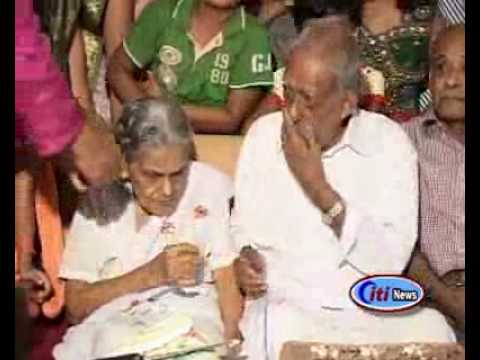Ranny  Mulamootil  Mathukutty & Thankamma's 75 Th Wedding Anniversery......flv video