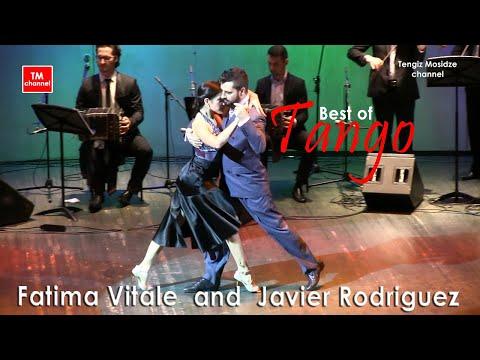 """Tango """"Buscandote """". Javier Rodriguez and Fatima Vitale with Solo Tango Orquesta Tipica. 2016"""