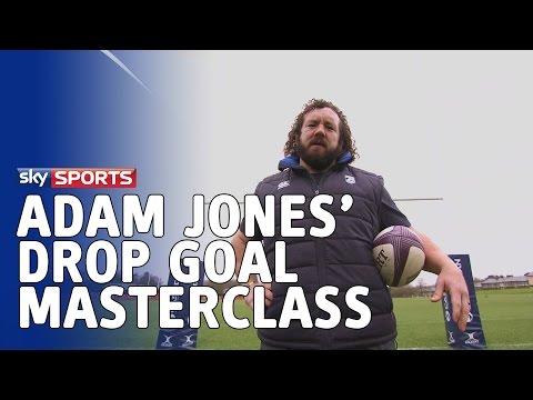 Adam Jones' drop goal master class
