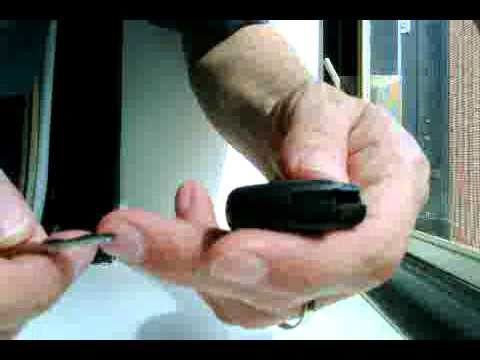 How to Replace or Swap a Battery in a Mercedes Benz Keyless SmartK