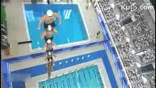Amazing Swimming Stunt