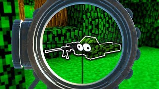 EXTREME INVISIBLE SNIPER HIDE & SEEK!