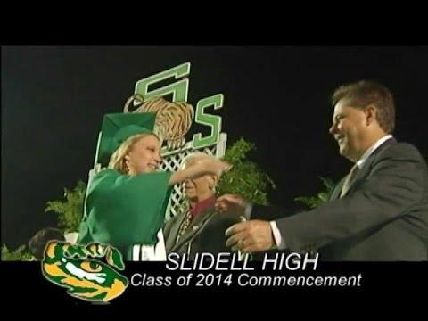 Slidell High School Graduation 2014