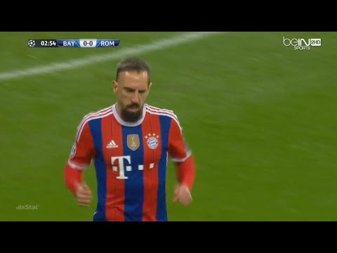 Franck Ribéry vs AS Roma (05/11/14) Home HD 720p