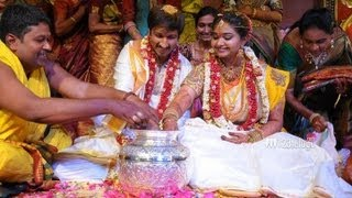 Gopichand Reshma Marriage Album | Reception