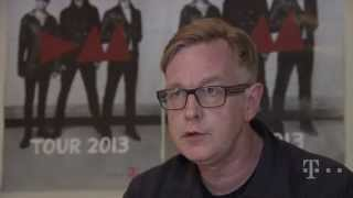 Depeche Mode live in Athens // Interview with Andy Fletcher