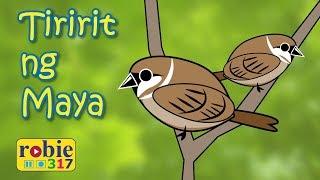 Tiririt Ng Maya Animated | Awiting Pambata | Filipino/Tagalog Folk Song