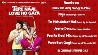 Tere Naal Love Ho Gaya - Tere Naal Love Ho Gaya - Remix Songs Jukebox - Original Quality