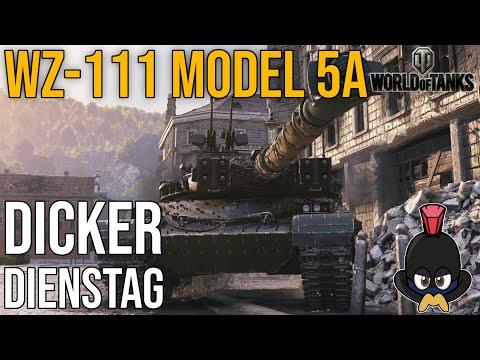 World of Tanks | Der dicke Dienstag im WZ 111 Model 5A auf Himmelsdord