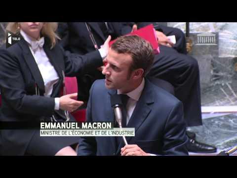 Emmanuel Macron présente ses excuses aux salariées de Gad