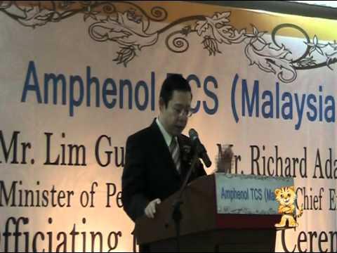 Amphenol TCS Malaysia opens in Penang