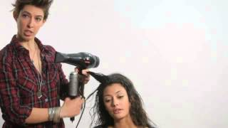 Learn How to Use a Hair Dryer