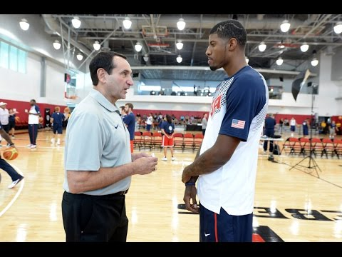 All Access: Paul George Mic'd Up At Usa Basketball Men's National Team Training Camp video