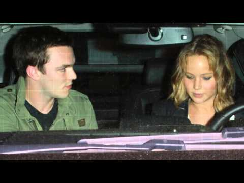 Jennifer Lawrence and Nicholas Hoult - Closer
