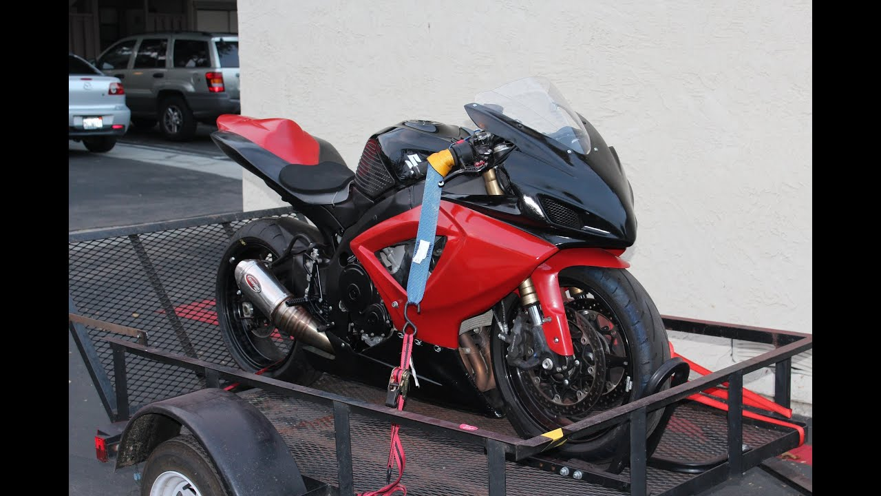 2007 Suzuki Gsxr 600 Track Bike Youtube