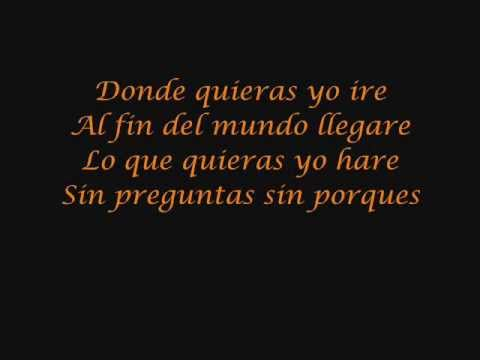 Backstreet Boys - Anywhere for you lyrics - Donde quieras yo ire letras