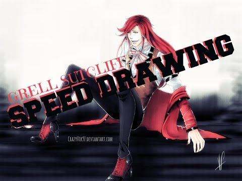 Grell Sutcliff - Speed Drawing