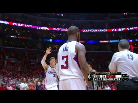 Chris Paul Ends Third Quarter With Ridiculous Three-Pointer