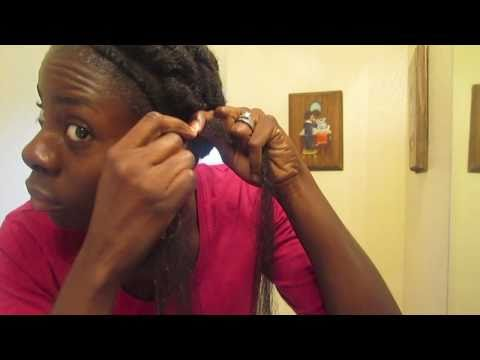 Box Braids using hair extensions, Using Coconut Oil for Eczema
