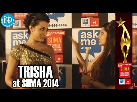 Actress Trisha Krishnan @ SIIMA 2014, Malaysia