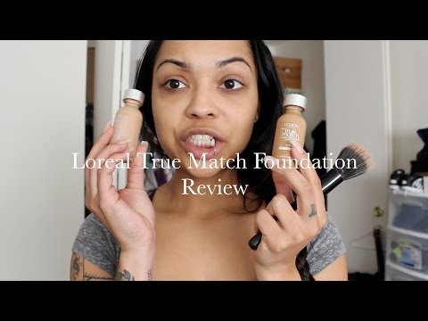 Drugstore Foundation Review: Loreal True Match