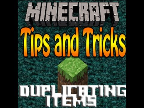 Duplicating Items in Minecraft 1.4.6/1.4.7