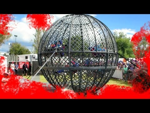 GLOBE OF DEATH - 2014 Formula 1 Australian Grand Prix