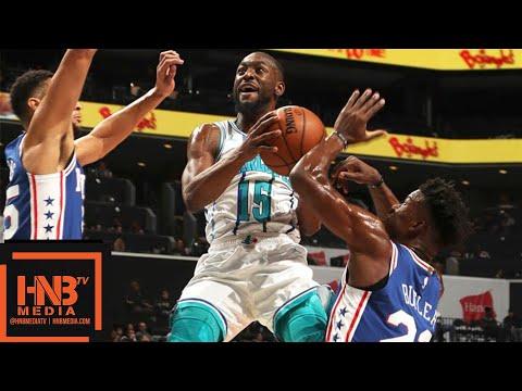 Philadelphia Sixers vs Charlotte Hornets Full Game Highlights | 11.17.2018, NBA Season