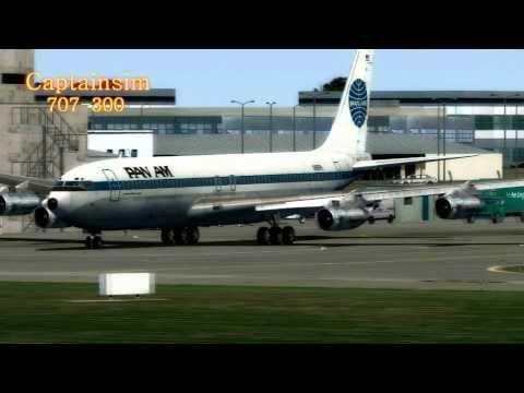 707 Captain-Sim FSX ((PAN AM))