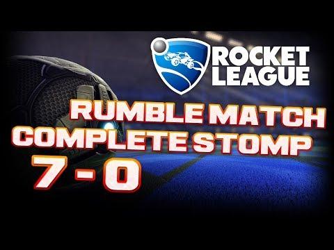 Rocket League 70 COMPLETE STOMP In RUMBLE Game Replay