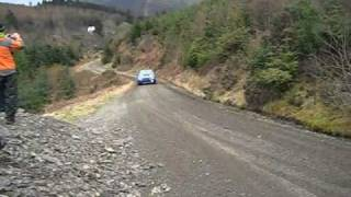 Malcolm Wilson Rally 2011 highlights crash roll Andy Burton Wins
