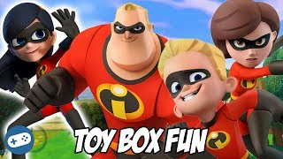 The Incredibles Disney Infinity 3.0 Toy Box Fun Gameplay