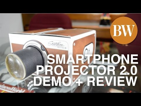 Smartphone Projector 2.0 (demo and mini review)