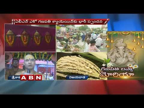 Vinayaka Chaturthi Celebrations Starts In Srikalahasti  | Ganesh Chaturthi 2018 | ABN Telugu