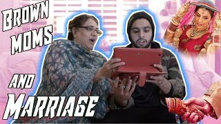BROWN MOMS AND MARRIAGE! *Showing me my bride!*
