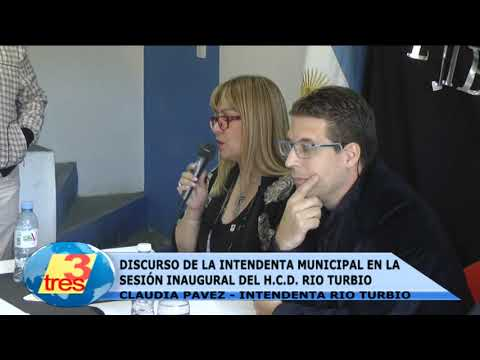 DISCURSO DE LA INTENDENTE CLAUDIA PAVEZ