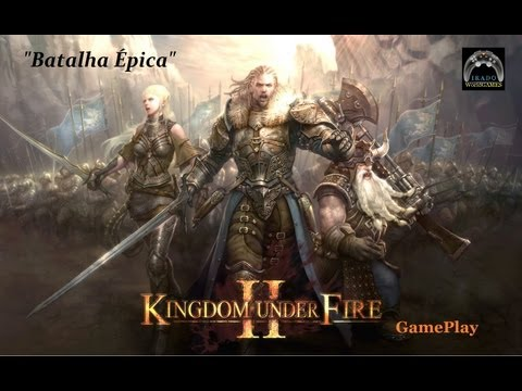 Kingdom Under Fire II Batalha Épica GAMEPLAY