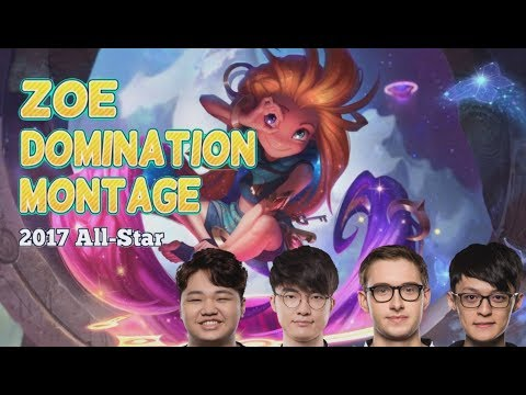Zoe Domination Montage Ft Bjergsen, Fofo, Pray & Faker - 2017 All-Star