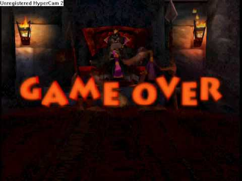 Conkers Bad Fur Day- Game Over Screens (new version)
