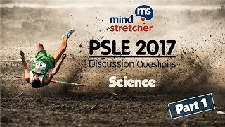 PSLE 2017 Discussion Questions Science (Part 1)