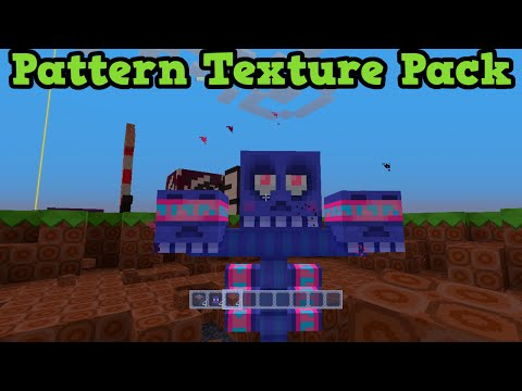 Minecraft Xbox 360 + PS3 - Pattern Texture Pack Review Showcase