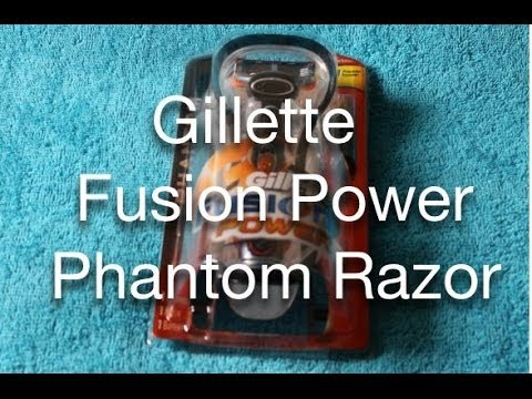 Gillette Fusion Power Phantom