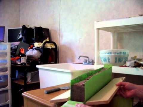 Essential Soap: How to line Soap Molds, New Plastic Liner, Makeing Lye Soap