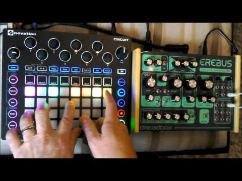 Novation Circuit + Dreadbox Erebus v2