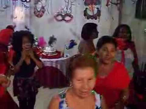 1º Vídeo - Aniversário Da Márcia Rebeque - Baile De Carnaval . video