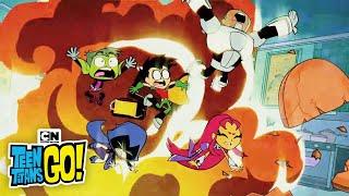 Download Teen Titans Go! | Popcorn War | Cartoon Network 3Gp Mp4