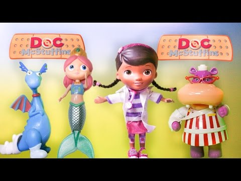 DOC MCSUFFINS Disney Jr Doc Mcstuffins Melinda Mermaid Playset YouTube Toy Review
