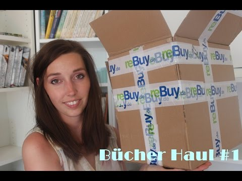 Rebuy Unpacking #1 • Bücher Haul 2015