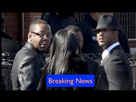 Bobby Brown Leaves Whitney Houston's Funeral: Seating Dispute Reportedly To Blame