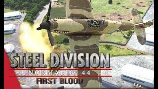 (SD League Europe Code A) Jarl Conrad vs TheKnifeGuy, Game 2! Steel Division: Normandy 44